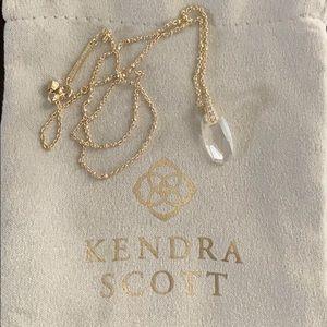 Kendra Scott Camila Pendant Necklace in Gold